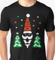 Red, Green and White! Unisex T-Shirt