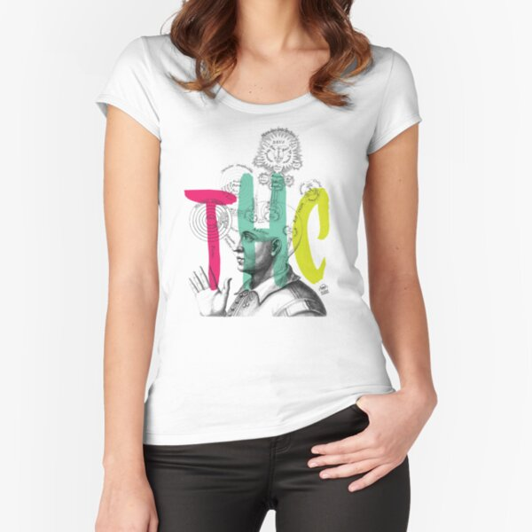 THC Minds Fitted Scoop T-Shirt