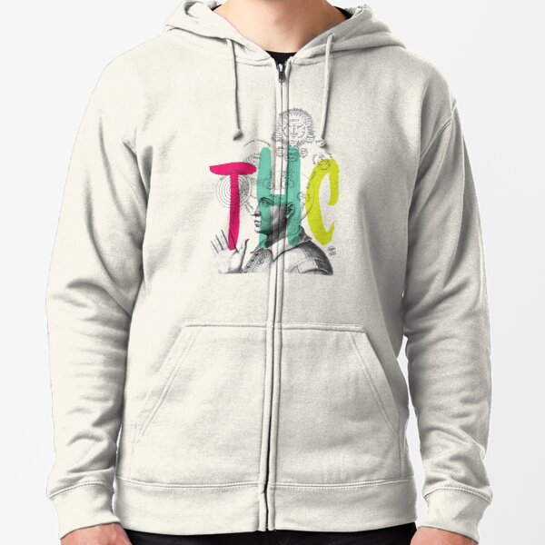 THC Minds Zipped Hoodie