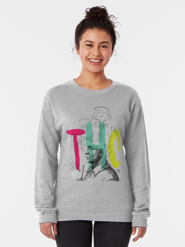 Alternate view of THC Minds Pullover Sweatshirt