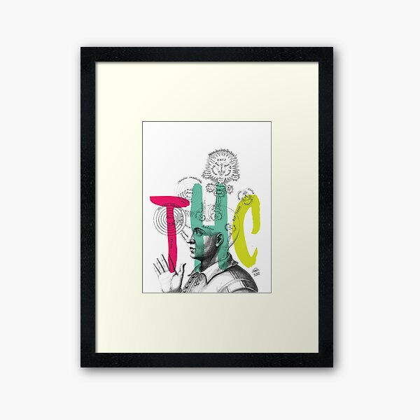 THC Minds Framed Art Print