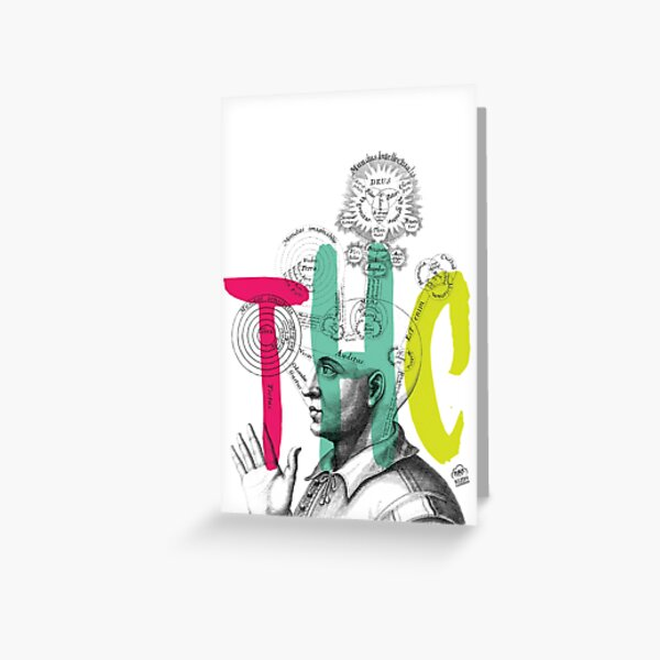 THC Minds Greeting Card