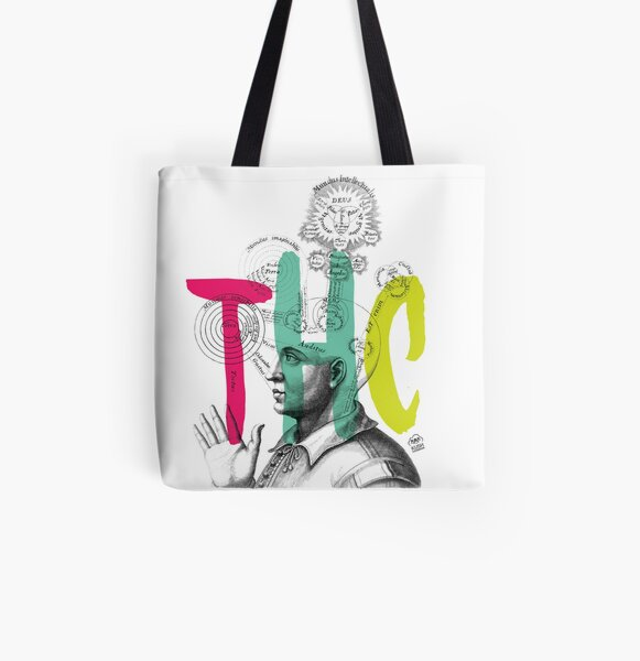 THC Minds All Over Print Tote Bag