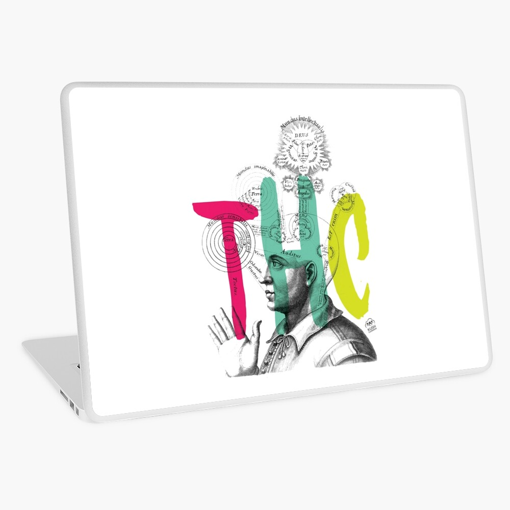THC Minds Laptop Skin