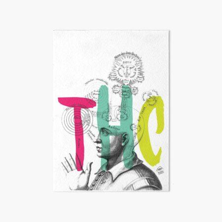 THC Minds Art Board Print