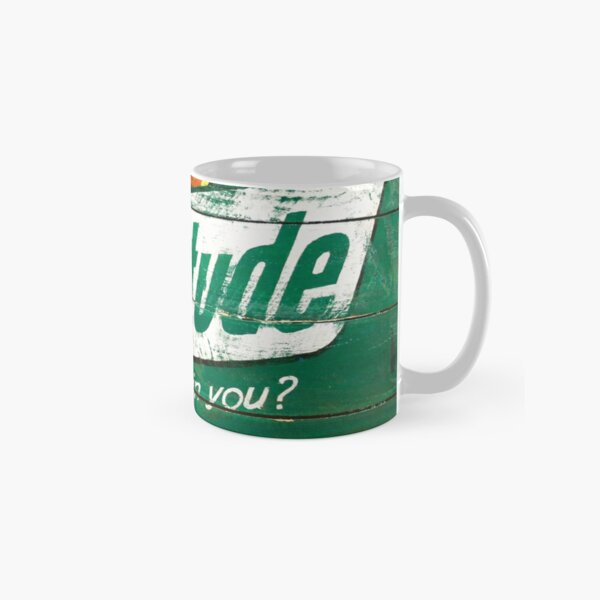 Gratitude Green Positive Pop Classic Mug