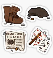 Newsies Aufkleber Sticker