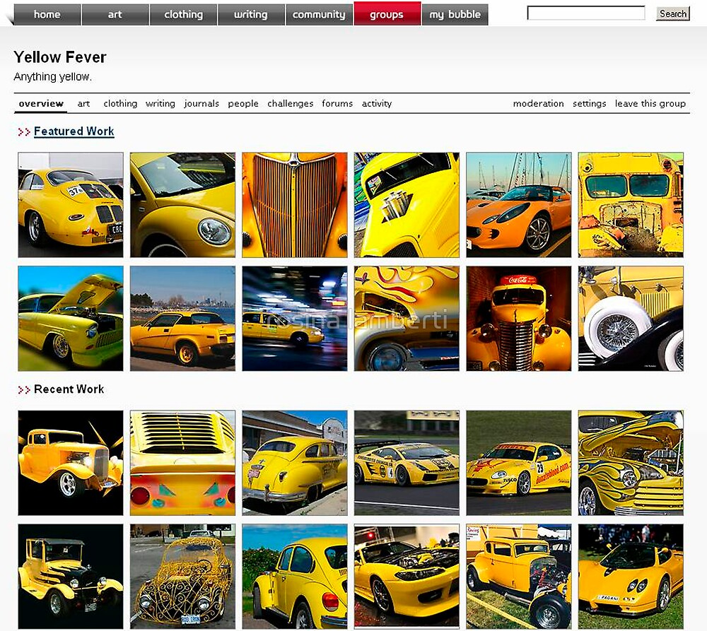 Yellow fever home page by Rosina  Lamberti