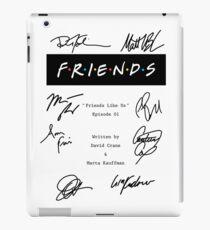 Friends Script iPad Case/Skin