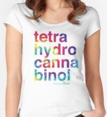 Tetra Women's Fitted Scoop T-Shirt