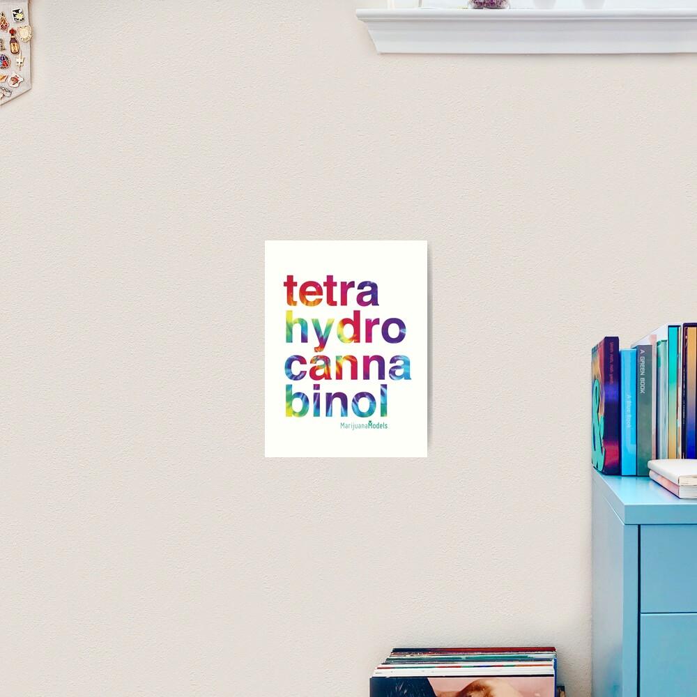 Tetra Art Print