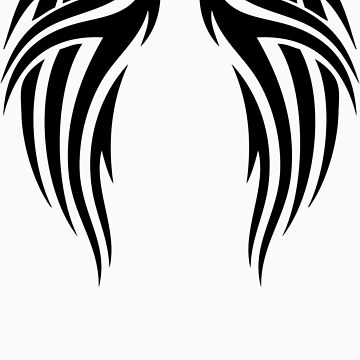 Tribal Wings by SarcasticTees