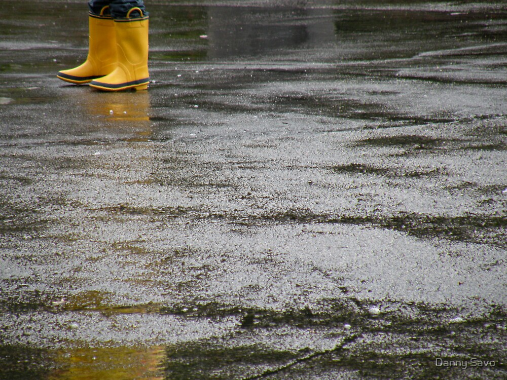 rain boots by Danny Savo