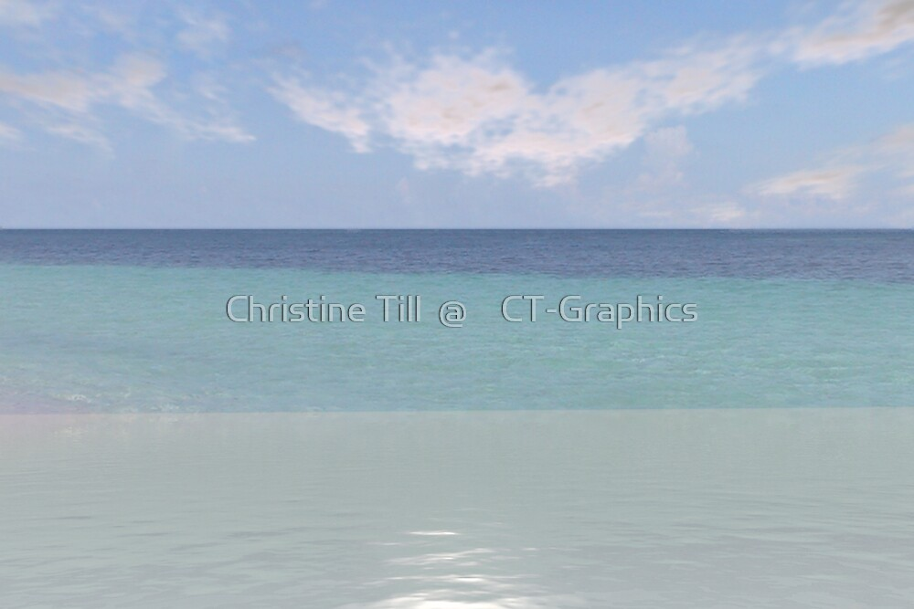 Ocean of Blue by Christine Till  @    CT-Graphics