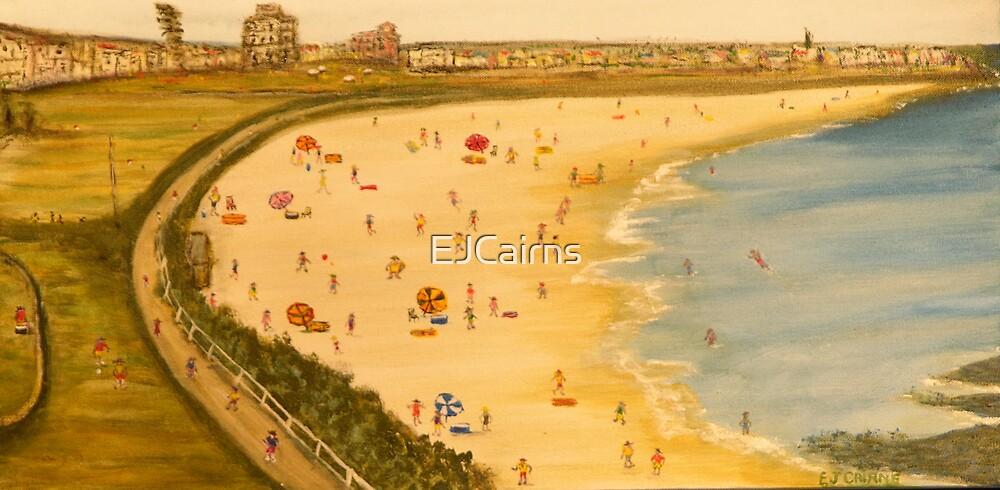 Bondi Beach Australia. Naïve Australiana; EJCairns; Original Sold  by EJCairns