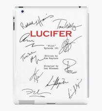 Lucifer Script iPad Case/Skin