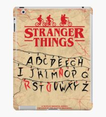 Stranger Things - Minimal TV-Show Fanart alternative iPad Case/Skin