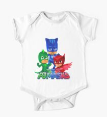 Pj Masks all team One Piece - Short Sleeve