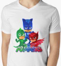 Pj Masks all team Men's V-Neck T-Shirt