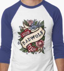 BadWolf Tattoo Men's Baseball ¾ T-Shirt