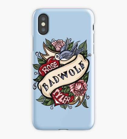BadWolf Tattoo iPhone Case