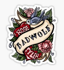 BadWolf Tattoo Sticker