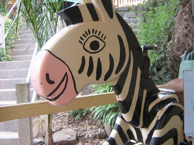 zebra horse by falsehope