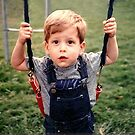 My Son Jared 2-Years Old by Glenna Walker