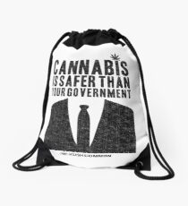 Cannabis is Safer Than Your Government Drawstring Bag