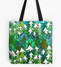 Winter's Forest  Tote Bag