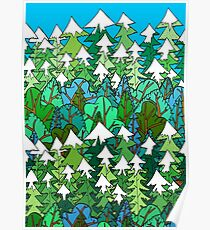 Winter's Forest  Poster