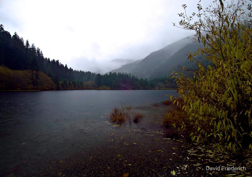 Autumn Lake by David Friederich