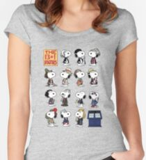The 13 + 1 Dogtors Women's Fitted Scoop T-Shirt