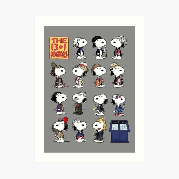 The 13 + 1 Dogtors Art Print
