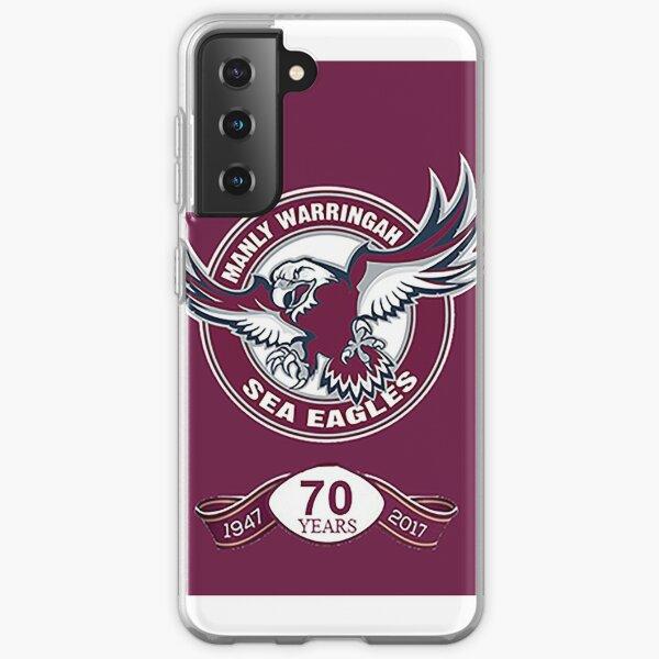 Manly Sea Eagles Logo - 70 Jahre Samsung Galaxy Flexible Hülle