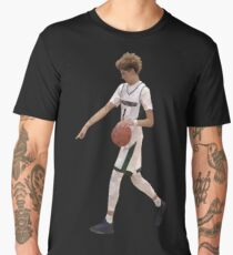 LaMelo Ball From Half Court Low Poly Men's Premium T-Shirt