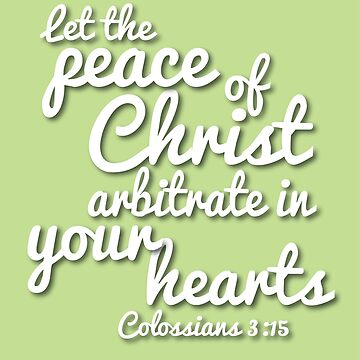 Peace of Christ (Christian encouragement) by Veggie-love