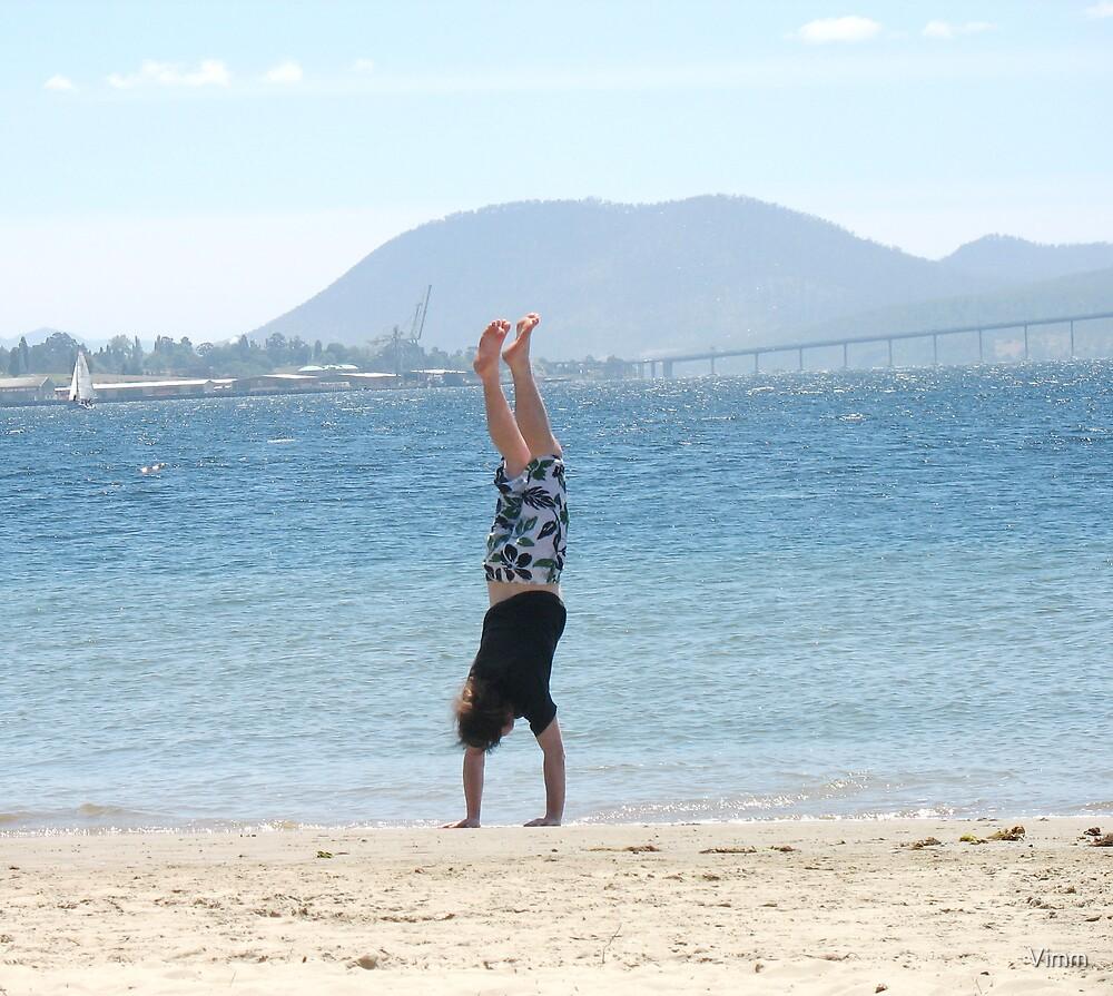 handstand by Vimm