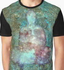 Space Buddha  Graphic T-Shirt