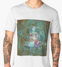 Space Buddha  Men's Premium T-Shirt