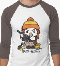 Hi Shiny Men's Baseball ¾ T-Shirt