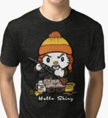 Hi Shiny Tri-blend T-Shirt