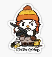 Hi Shiny Sticker