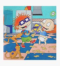 Rugrats Tommy Chuckie Spike Nickelodeon Photographic Print