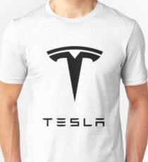 Tesla-Logo Slim Fit T-Shirt