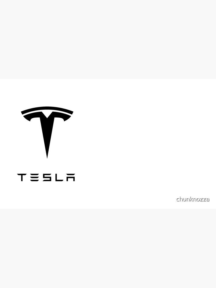 tesla logo by chunknozza