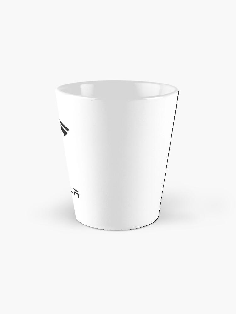 Alternate view of tesla logo Mugs