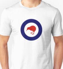 Roundel der neuseeländischen Luftwaffe Slim Fit T-Shirt