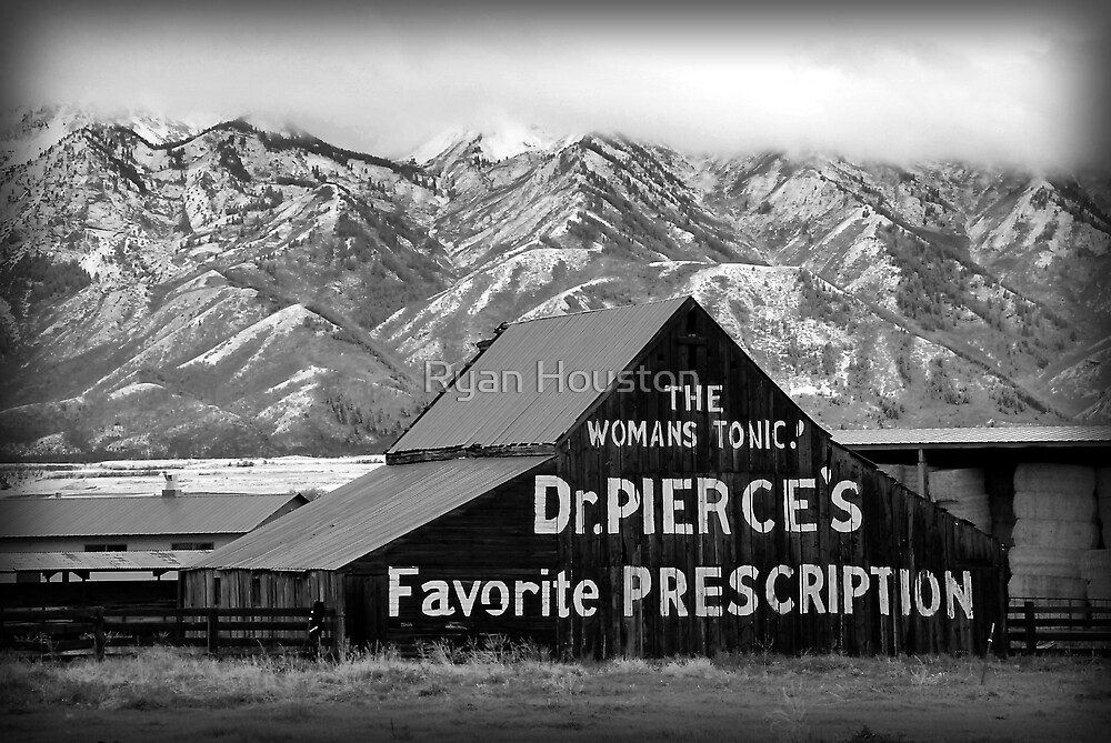 Dr. Pierce's Tonic - Vintage Barn by Ryan Houston