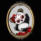 Sugar Skull Panda by Kestrelle